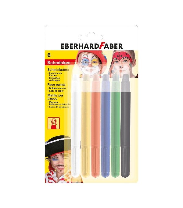Faber Drehbare Schminkstifte 6er Blister
