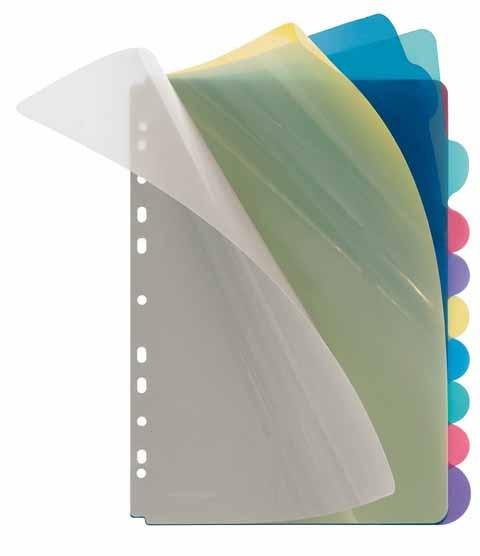 Veloflex Register Kunststoff 10-teilig