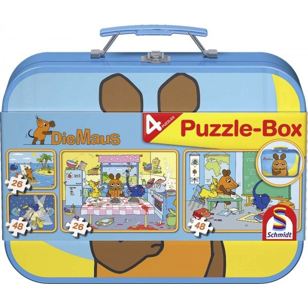 Puzzle Puzzle-Box Die Maus