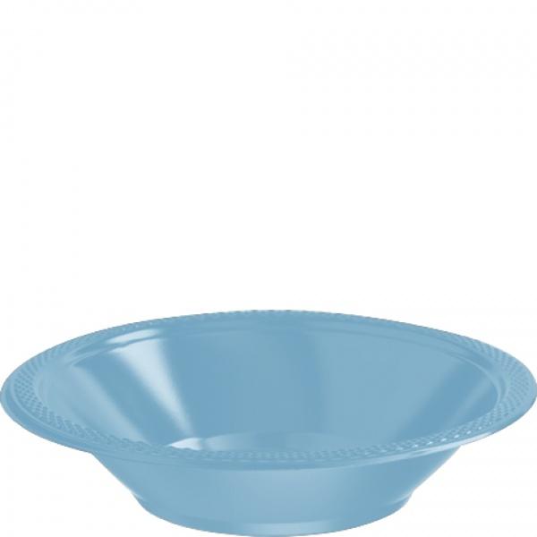 Partyschüsseln Kunststoff 10 Stück  azurblau
