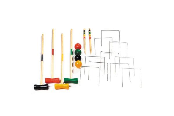 Krocket-Set für 4 Spieler 80 cm
