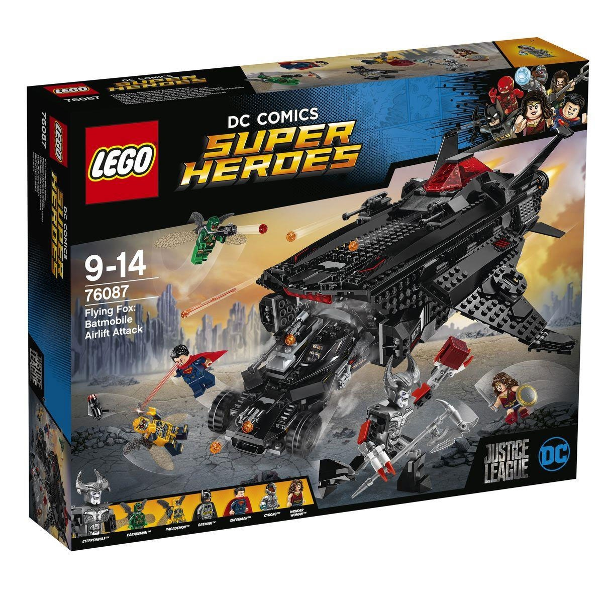 Lego DC Comics Super Heroes 76087 Flying Fox Batmobil-Attack