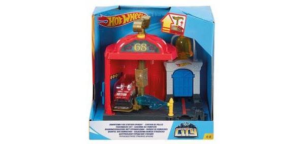 Hot Wheels City Feuerwache-Set FRH29