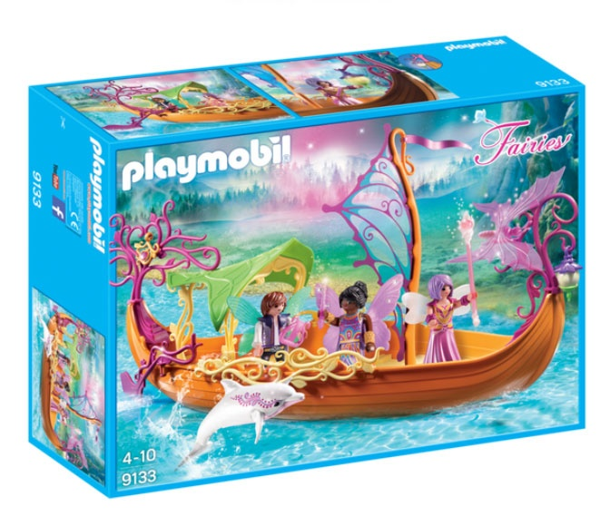 Playmobil 9133 Fairies Romantisches Feenschiff