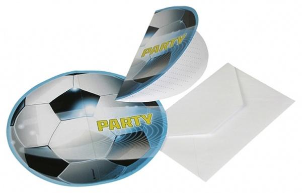 Einladungskarten Fussball