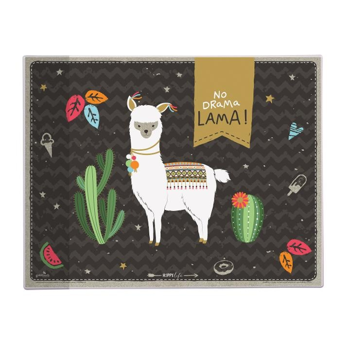 Goldbuch Schreibunterlage Happylife Lama