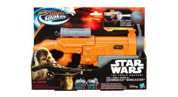 Nerf Star Wars Super Soaker Chewbacca Bowcaster Blaster