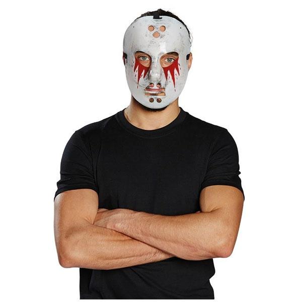 Kostüm-Zubehör Hockey Maske Blut