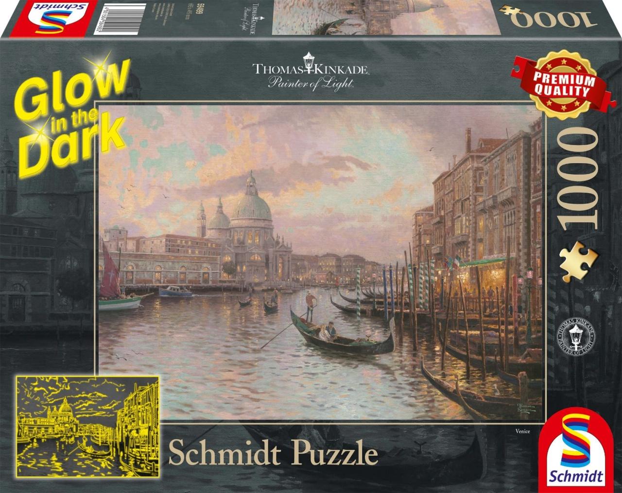 Schmidt Spiele Puzzle Glow in the Dark In den Straßen von