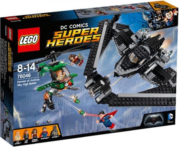 Lego 76046 Helden der Gerechtigkeit: Duell in der Luft