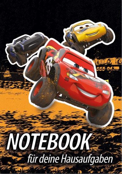 Hausaufgabenheft Cars