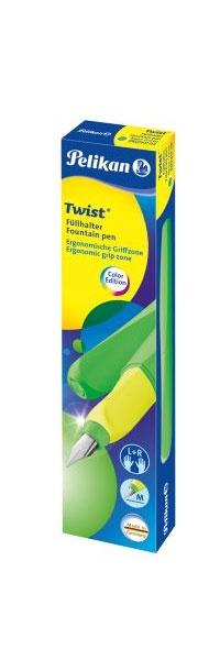 Twist Füllhalter neon grün