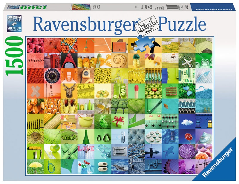 Ravensburger Puzzle 99 Beautiful Colors 1500 Teile