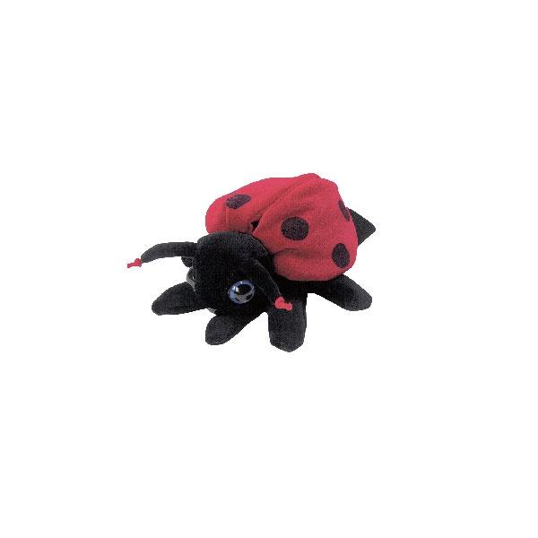 Handpuppe Marienkäfer Ladybird