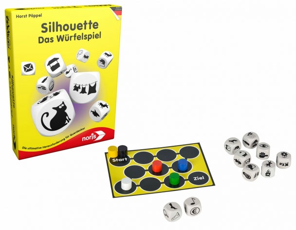 Silhouette Das Würfelspiel von Noris-Spiele