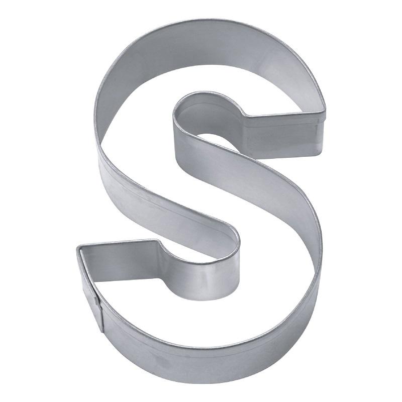 Ausstecher Buchstabe S aus Edelstahl