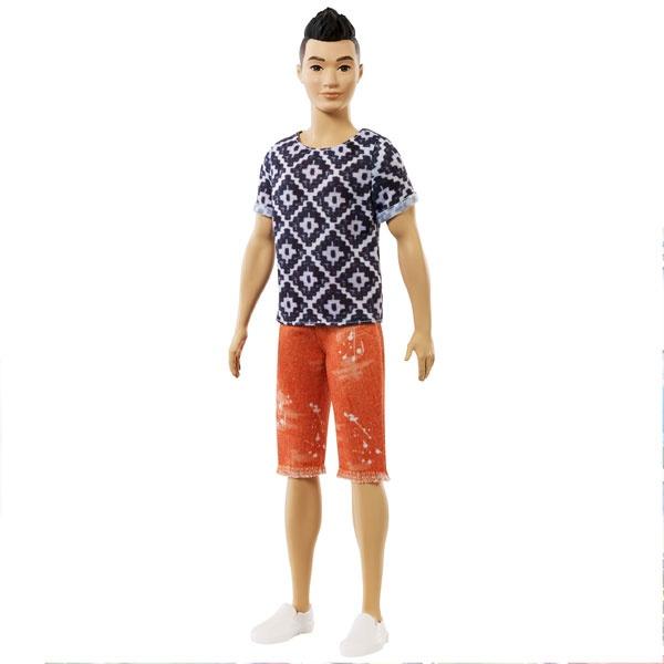 Barbie Ken Fashionistas Puppe im Hipsteroutfit