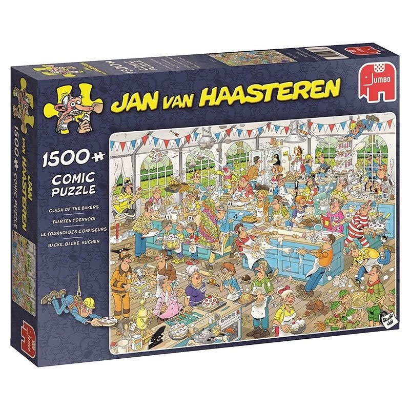 Puzzle Jan van Haasteren Back Backe Kuchen 1500 Teile
