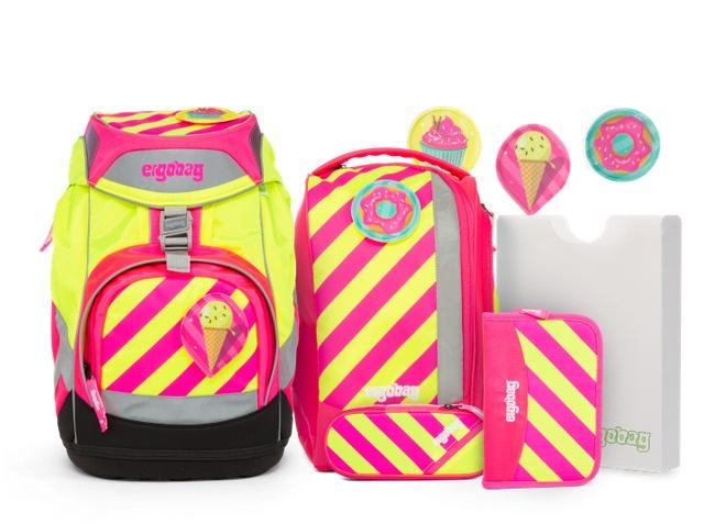 Ergobag Pack Schulrucksack-Set StrahleBär
