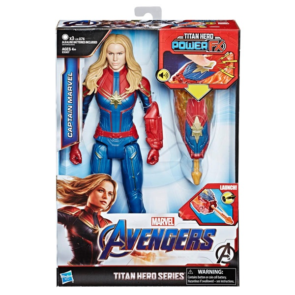 Avengers Titan Hero Power FX 2.0 Captain Marvel von Hasbro