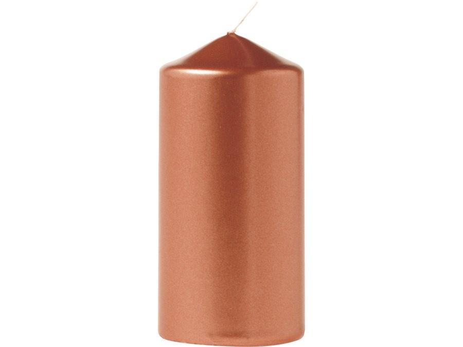 Eika Stumpenkerze metallic Kupfer 110/60 mm