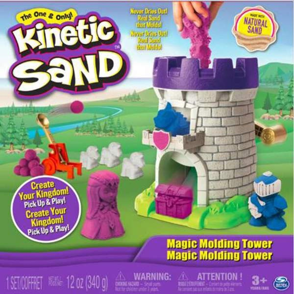 Kinetic Sand Magic Tower