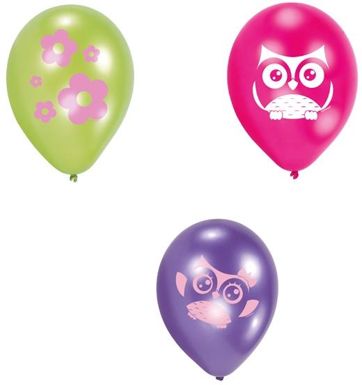 Luftballons Happy Owl Eule