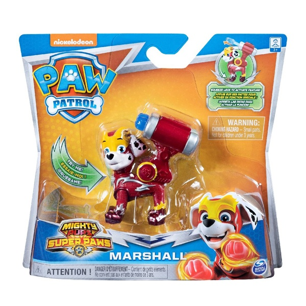 Paw Patrol Mighty Pups Charged Up Marshall