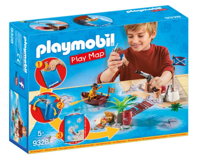 Playmobil 9328 Pirates Play Map Piraten