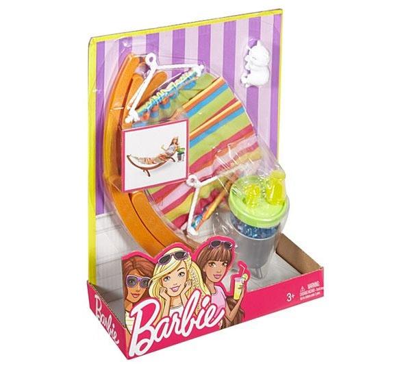 Barbie Möbel Hängematte Set DVX47