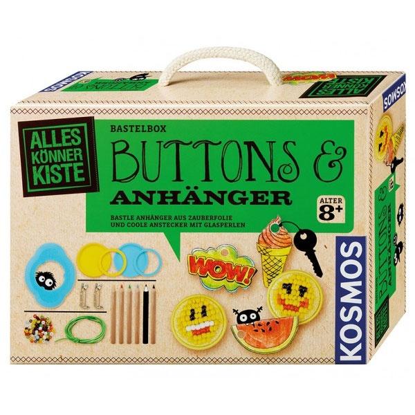 Buttons und Anhänger