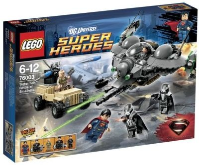 Lego Super Heroes 76003 Superman Aufruhr in Smallville