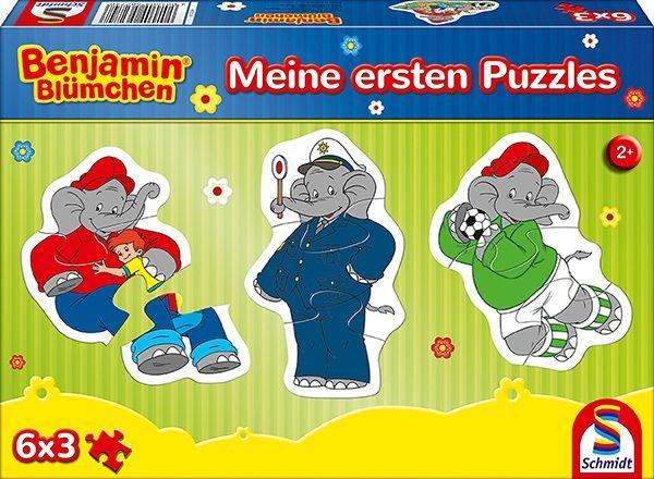 Schmidt Spiele Puzzle Bejamin Blümchen Meine ersten Puzzle