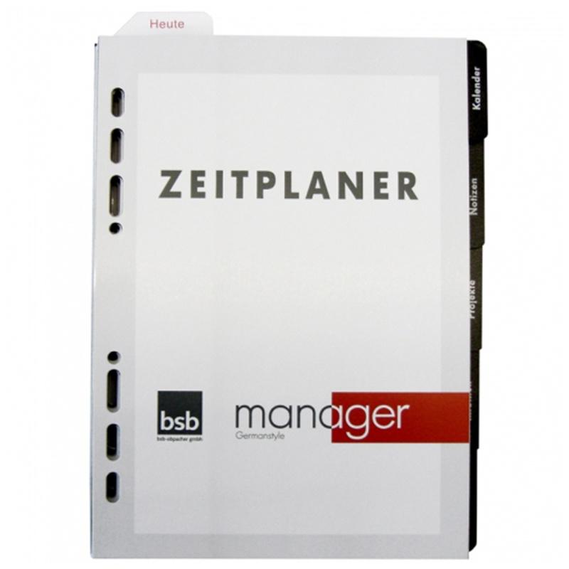 2021 Kalender Manager Ersatzeinlage  A5 Komplett-Ausstatung