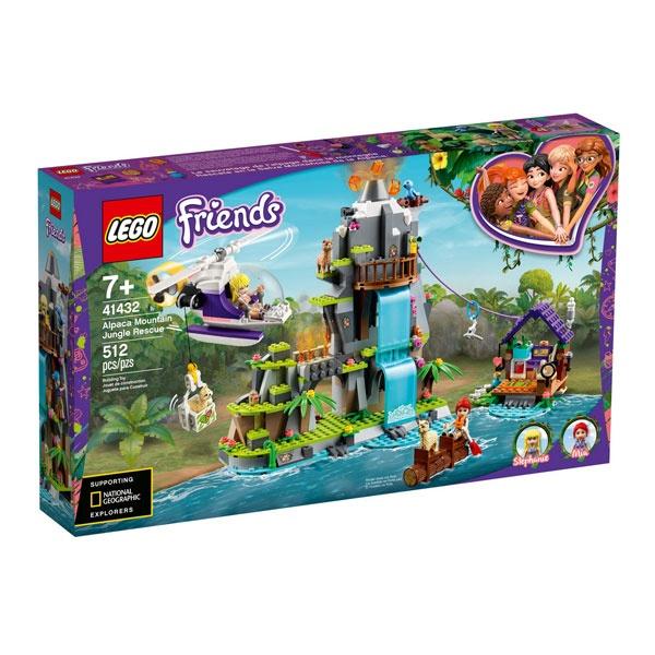 Lego Friends 41432 Alpaka Rettung im Dschungel