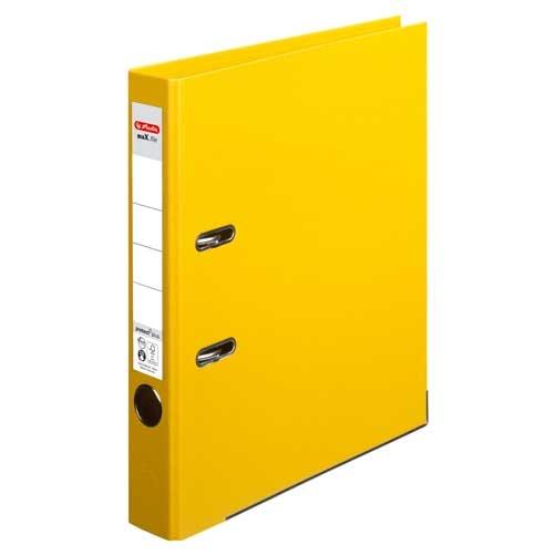 Ordner A4 max.file protect gelb 5 cm von Herlitz