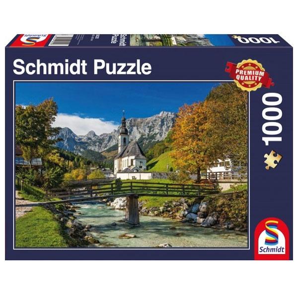 Puzzle Reiteralpe - Ramsau, Oberbayern 1000 Teile