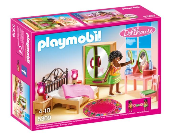 Playmobil 5309 Dollhouse Schlafzimmer mit Schminktisch