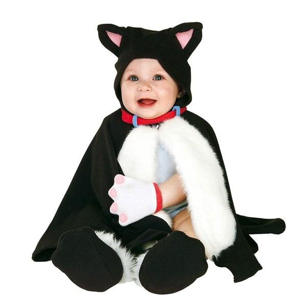 Kostüm Kätzchen Cape bis 1 Jahr