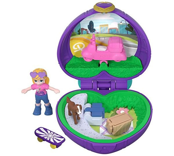 Polly Pocket Mini-Schatulle Picknick FRY30 von Mattel