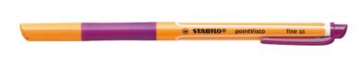 Stabilo Gelschreiber pointVisco 0,5mm lila