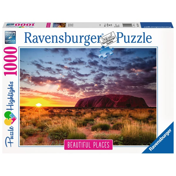 Puzzle Ayers Rock in Australien 1000 Teile