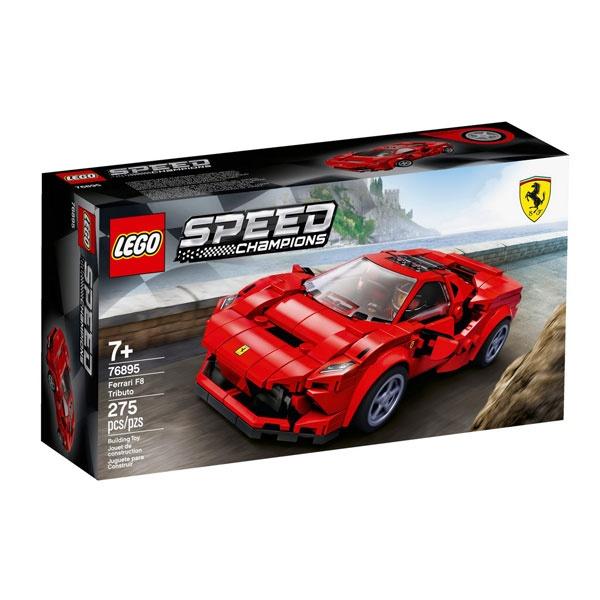 Lego Speed Champions 76895 Ferrari F8 Tributo Sportwagen