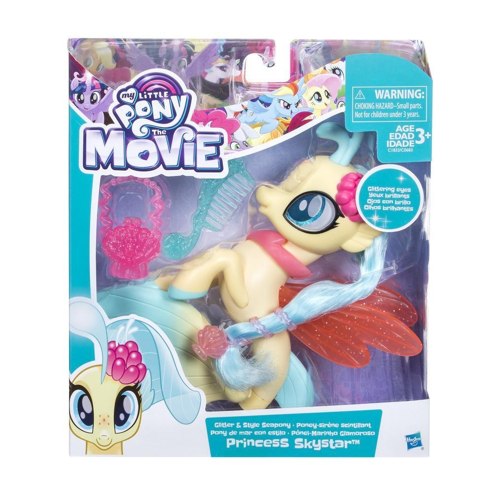 My little Pony Movie Glitter & Style Princess Skystar