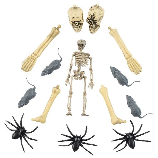 Kostüm-Zubehör Halloween Set 15tlg.