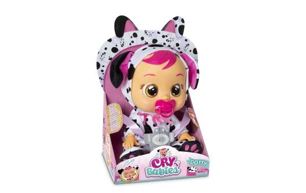 Cry Babies Dotty Dalmatiner kann schreien Schreibaby