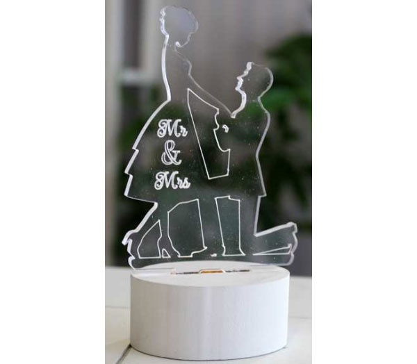 Hochzeitspaar-LED-Beleuchtung