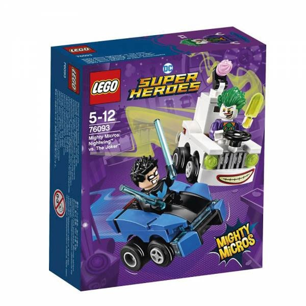 Lego Super Heroes 76093 Mighty Micros Nightwing vs. The Joke