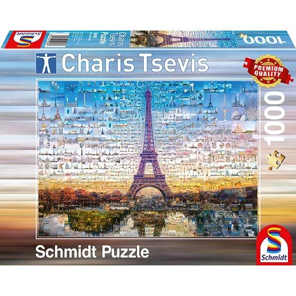 Schmidt Spiele Puzzle Charis Tsevis Paris 1000 Teile