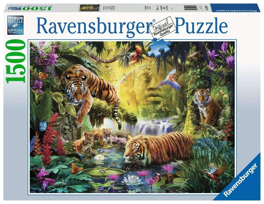 Ravensburger Puzzle Idylle am Wasserloch 1500 Teile